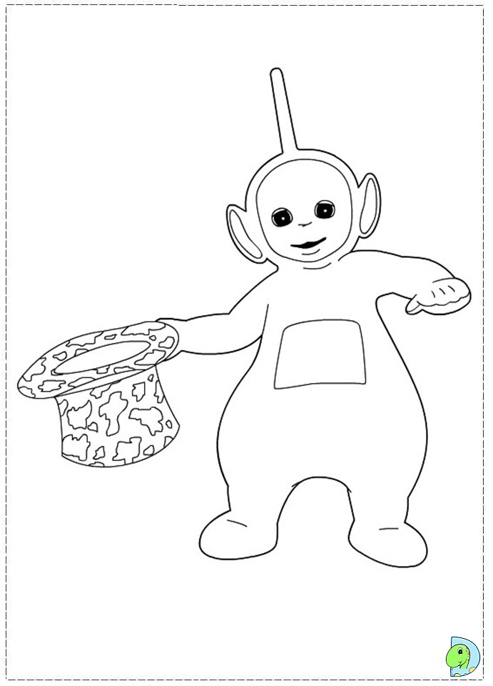 Pbs Teletubbies Coloring Pages Coloring Coloring Pages