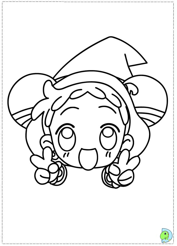 Magical Doremi Coloring Page Dinokidsorg - Magical-doremi-coloring-pages