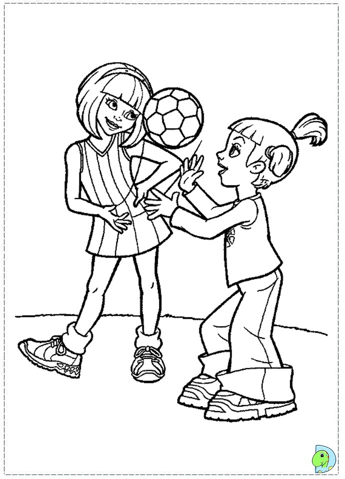 Lazy town stephanie coloring pages coloring pages for Stephanie coloring pages