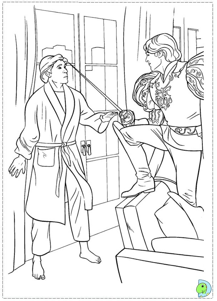 Enchanted Coloring page, Princess Giselle coloring page ...