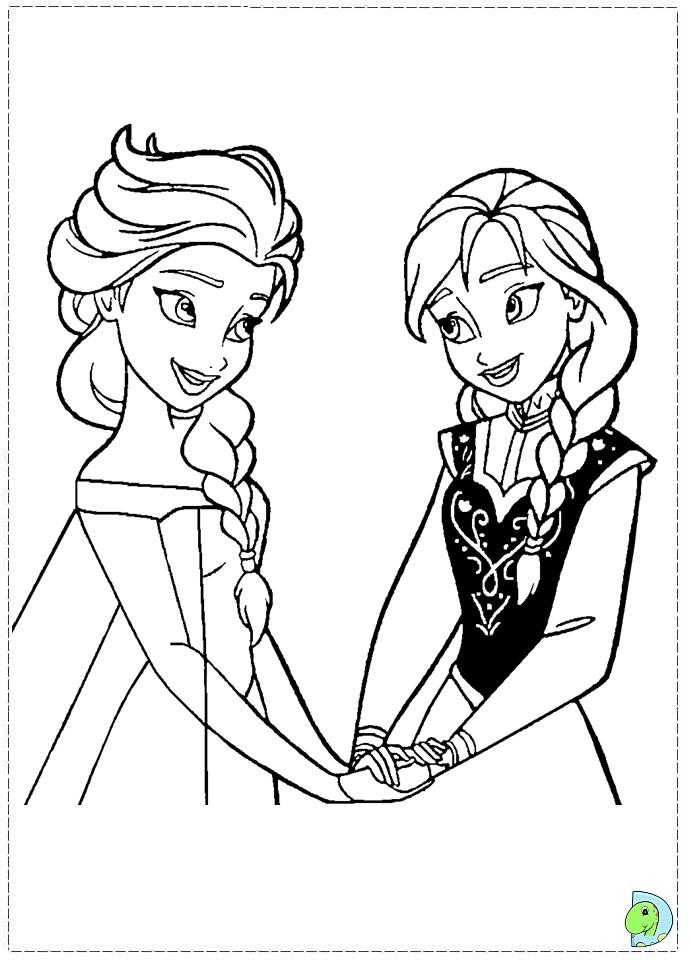 Frozen Coloring Pages Disneys Frozen Coloring Page