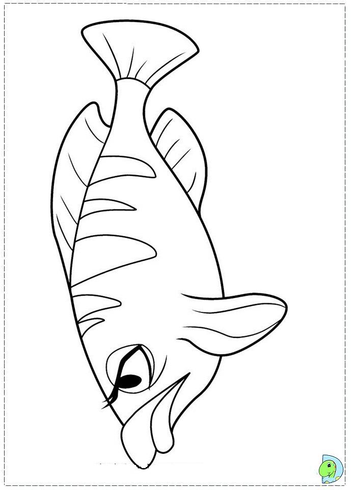 Barbie in a Mermaid Tale coloring page- DinoKids.org