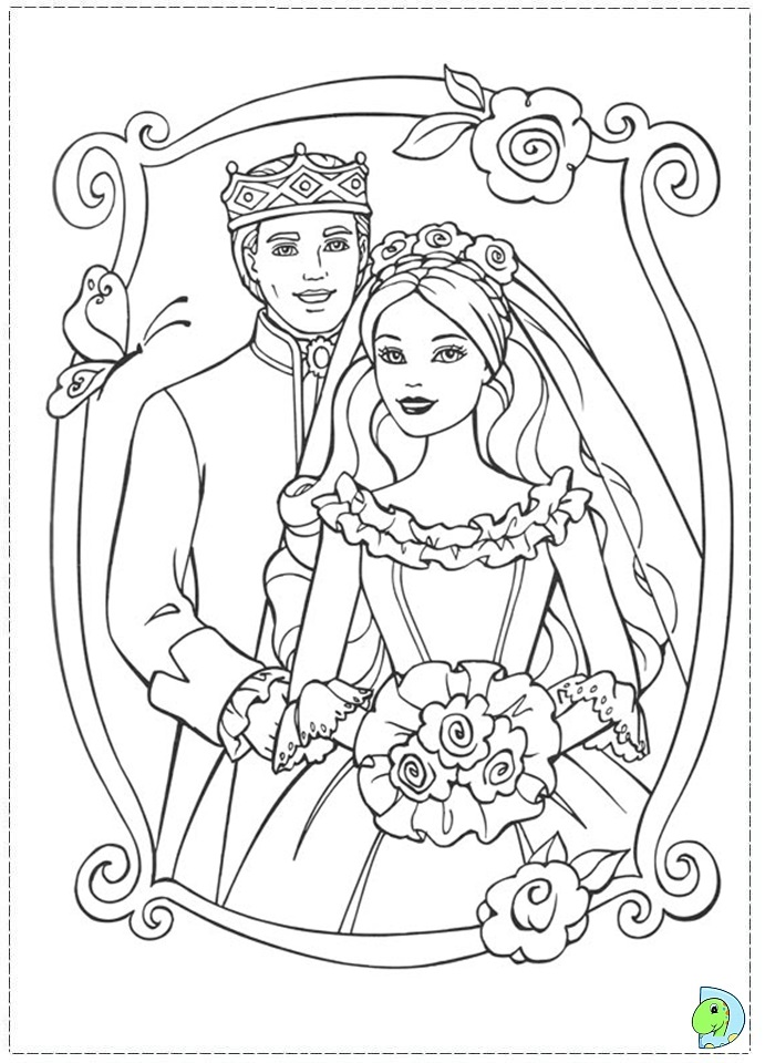 princess pauper coloring pages - photo#11