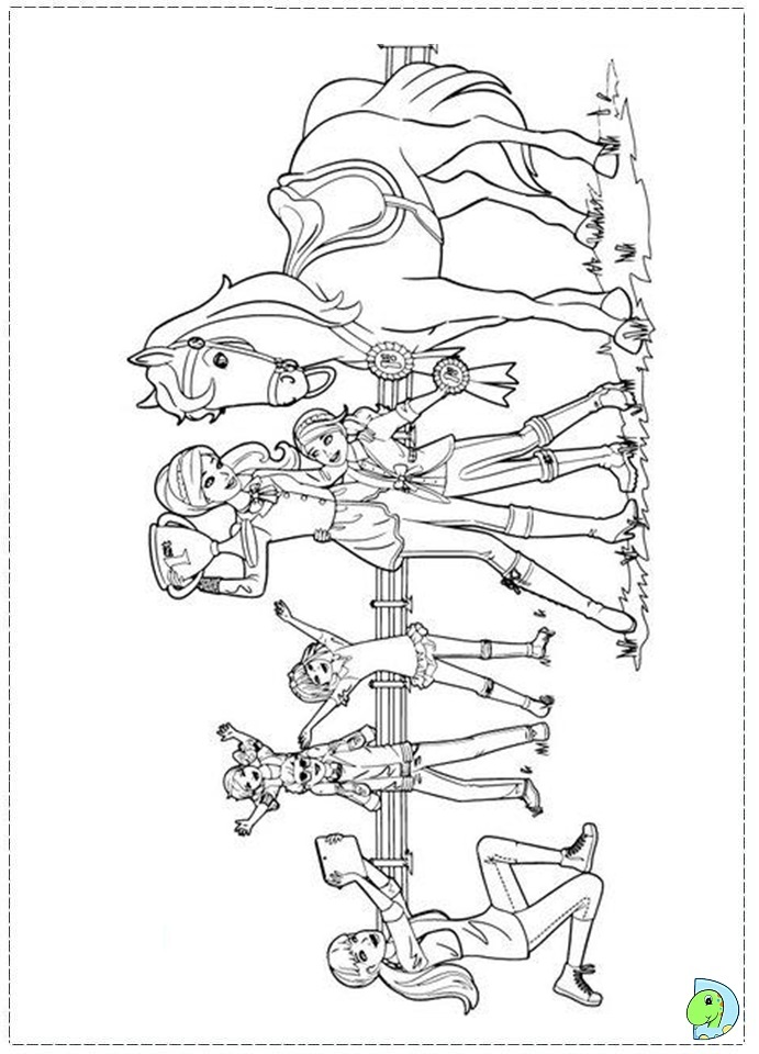 Barbie And Her Sisters Coloring Pages Coloring Pages