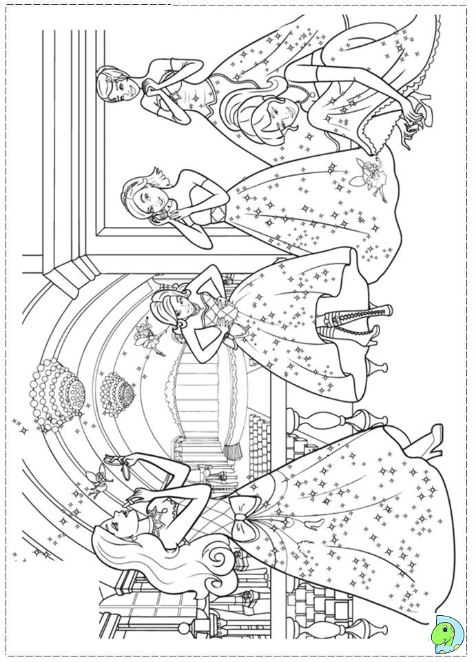 970 Top Coloring Pages Barbie Princess Charm School , Free HD Download