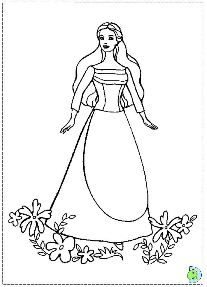The swan princess coloring pages | För barn, Barn | 960x691